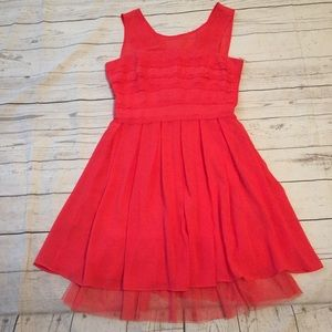 Point Coral Dress